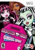 THQ Monster High Ghoul Spirit Nintendo Wii Game