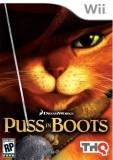 THQ Puss in Boots Nintendo Wii Game