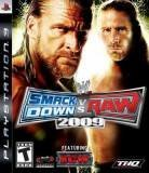 THQ WWE Smackdown VS RAW 2009 PS3 Playstation 3 Game