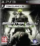 Ubisoft Tom Clancys Splinter Cell Blacklist PS3 Playstation 3 Game