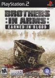 Ubisoft Brothers In Arms Earned In Blood PS2 Playstation 2 Game
