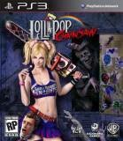 Warner Bros Lollipop Chainsaw PS3 Playstation 3 Game