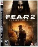 Warner Bros FEAR 2 Project Origin PS3 Playstation 3 Game