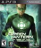 Warner Bros Green Lantern Rise Of The Manhunters PS3 Playstation 3 Game