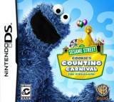 Warner Bros Sesame Street Cookies Counting Carnival Nintendo DS Game