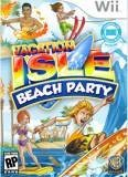 Warner Bros Vacation Isle Beach Party Nintendo Wii Game