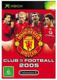 Codemasters Club Football 2005 Manchester United Xbox Game