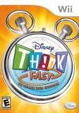Disney Think Fast Nintendo Wii Game