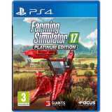 Focus Home Interactive Farming Simulator 17 Platinum Edition PS4 Playstation 4 Game