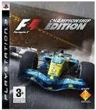 Sony Formula 1 Championship Edition PS3 Playstation 3 Game