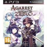 Ghostlight Agarest Generations Of War Zero PS3 Playstation 3 Game