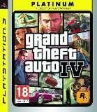 Rockstar Grand Theft Auto IV Platinum PS3 Playstation 3 Game