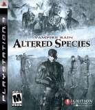 Ignition Vampire Rain Altered Species PS3 Playstation 3 Game