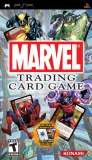 Konami Marvel Trading Card Game PSP Game