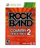 MTV Game Rock Band Country Track Pack 2 Xbox 360 Game