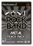 MTV Game Rock Band Metal Track Pack PS2 Playstation 2 Game