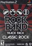 MTV Game Rock Band Track Pack Classic Rock PS2 Playstation 2 Game