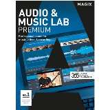 Magix Audio and Music Lab Premium Graphics Software