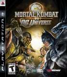 Midway Games Mortal Kombat vs DC Universe PS3 Playstation 3 Game