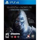 Monolith Productions Middle Earth Shadow of Mordor Game of the Year Edition PS4 Playstation 4 Game