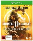 Warner Bros Mortal Kombat 11 Steelbook Edition Xbox One Game