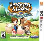 Natsume Harvest Moon The Lost Valley Nintendo 3DS Game