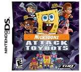 THQ Nicktoons Attack of the Toybots Nintendo DS Game