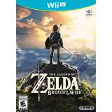 Nintendo The Legend Of Zelda Breath Of The Wild Nintendo Wii U Game