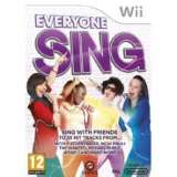 OGames Everyone Sing Nintendo Wii Game