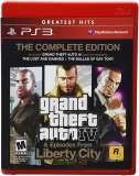 Rockstar Grand Theft Auto IV Complete Edition PS3 Playstation 3 Game