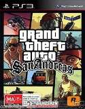 Rockstar Grand Theft Auto San Andreas PS3 Playstation 3 Game