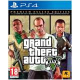 Rockstar Grand Theft Auto V Premium Online Edition PS4 Playstation 4 Game
