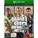 Rockstar Grand Theft Auto V Premium Online Edition Xbox One Game