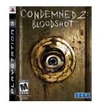 Sega Condemned 2 Bloodshot PS3 Playstation 3 Game