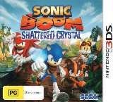 Sega Sonic Boom Shattered Crystal Nintendo 3DS Game