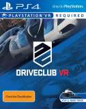 Sony DriveClub VR PS4 Playstation 4 Game