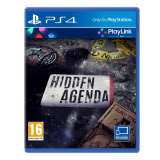 Sony Hidden Agenda PS4 Playstation 4 Game