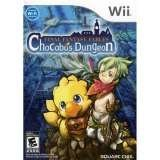 Square Enix Final Fantasy Fables Chocobo Dungeon Nintendo Wii Game