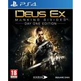 Square Enix Deus Ex Mankind Divided Day One Edition PS4 Playstation 4 Game