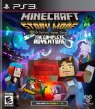 Telltale Games Minecraft Story Mode The Complete Adventure PS3 Playstation 3 Game