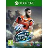 Tru Blu Entertainment Rugby League Live 4 Xbox One Game