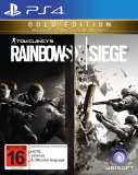 Ubisoft Tom Clancys Rainbow 6 Siege Gold Edition PS4 Playstation 4 Game