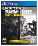 Ubisoft Tom Clancys Rainbow Six Siege Advanced Edition PS4 Playstation 4 Game