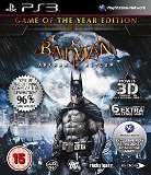 Warner Bros Batman Arkham Asylum Game of the Year Edition PS3 Playstation 3 Game