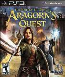 Warner Bros Lord of the Rings Aragorns Quest PS3 Playstation 3 Game