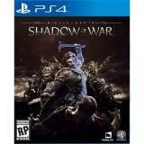 Warner Bros Middle Earth Shadow Of War PS4 Playstation 4 Game