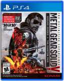 konami Metal Gear Solid V The Definitive Experience PS4 Playstation 4 Game