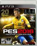 konami Pro Evolution Soccer 2016 PS3 Playstation 3 Game