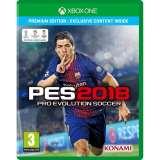 konami Pro Evolution Soccer 2018 Premium Edition Xbox One Game