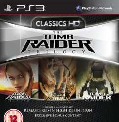 Eidos Interactive Tomb Raider Trilogy Ps3 Playstation 3 Game